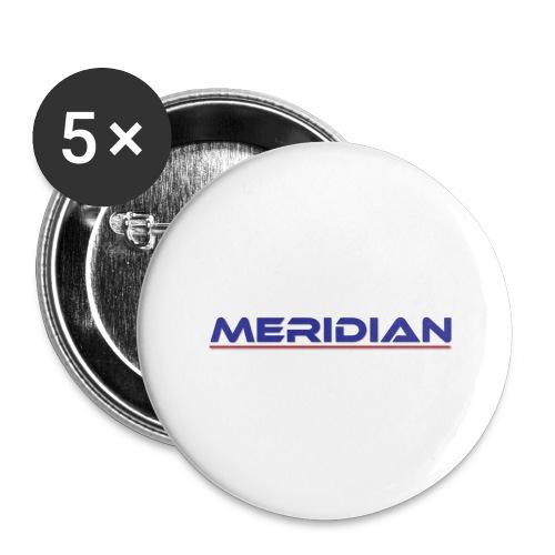 Meridian - Confezione da 5 spille grandi (56 mm)