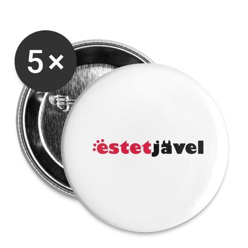 ESTETJÄVEL - Stora knappar 56 mm (5-pack)