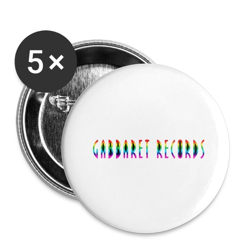 gabbaretr png - Buttons groot 56 mm (5-pack)