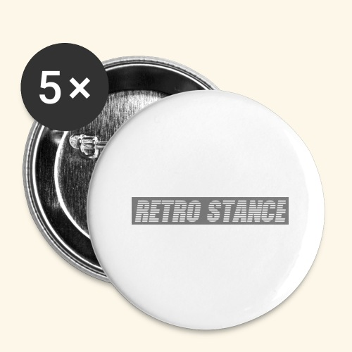 Retro Stance - Buttons large 2.2''/56 mm (5-pack)