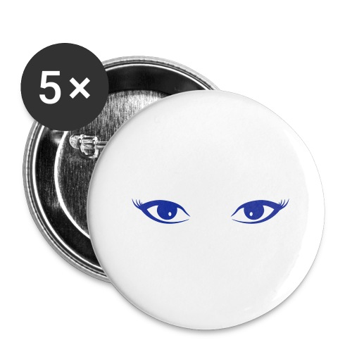 augen - Buttons groß 56 mm (5er Pack)