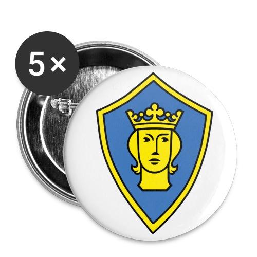 st erik liten - Stora knappar 56 mm (5-pack)
