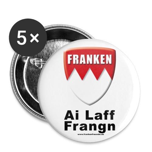 tshirt ailafffranken - Buttons groß 56 mm (5er Pack)