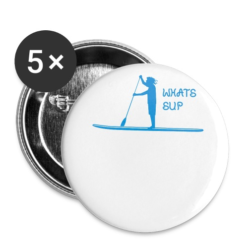 What's SUP - Buttons groß 56 mm (5er Pack)