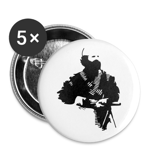 AJ - Buttons large 2.2''/56 mm(5-pack)