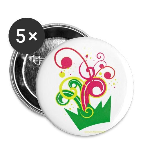 mymajor - Lot de 5 grands badges (56 mm)