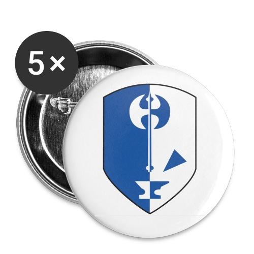 ankoragahn schön - Buttons groß 56 mm (5er Pack)