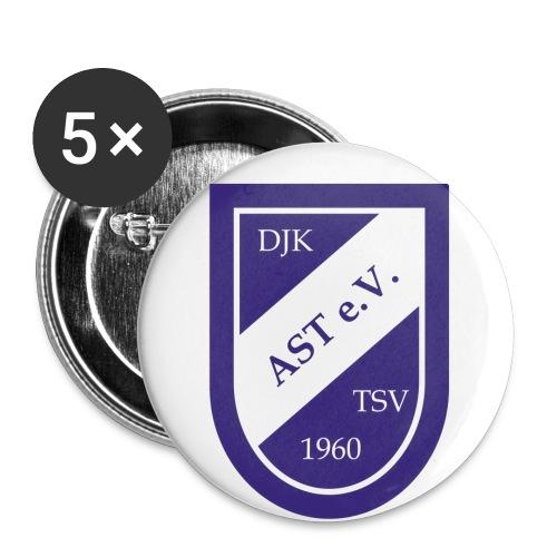 djk logo freigestellt kopie - Buttons groß 56 mm (5er Pack)