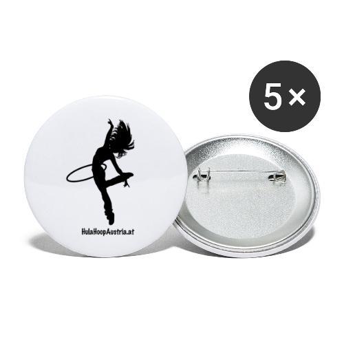 Hoop Dance - Buttons groß 56 mm (5er Pack)