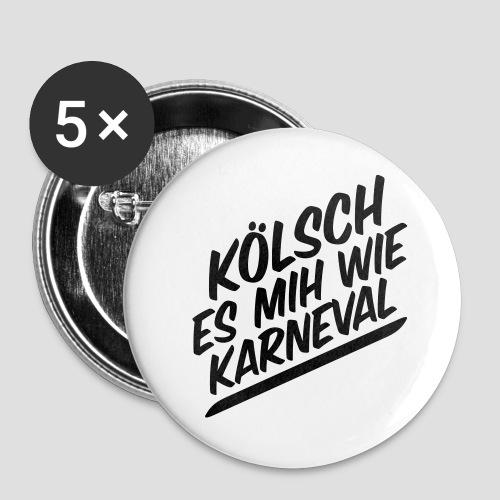 daeHoot Karneval - Buttons groß 56 mm (5er Pack)