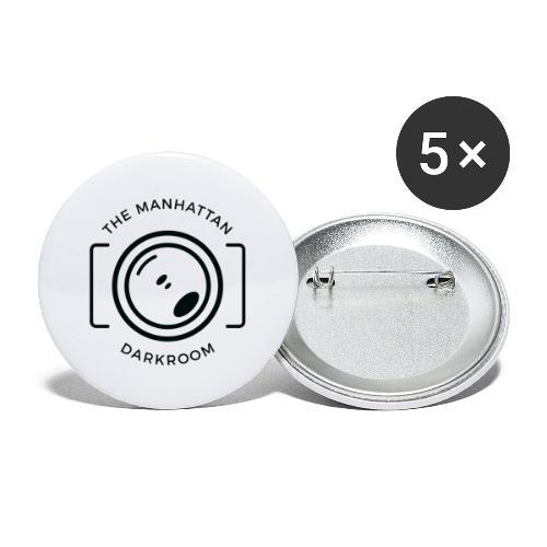 THE MANHATTAN DARKROOM photo - Lot de 5 grands badges (56 mm)