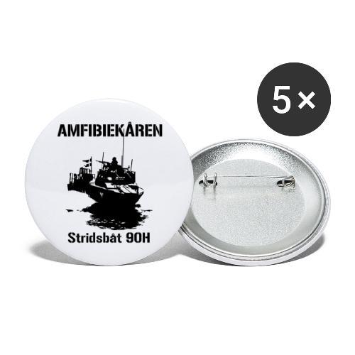 Amfibiekåren - Stridsbåt 90H - Stora knappar 56 mm (5-pack)