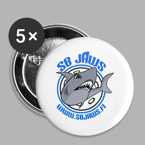 SB JAWS - Rintamerkit isot 56 mm (5kpl pakkauksessa)