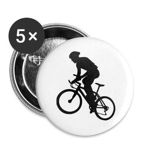 X-Country - Lot de 5 grands badges (56 mm)