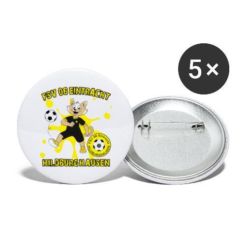 Hildburghausen ESKater - Buttons groß 56 mm (5er Pack)