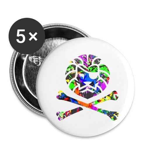 Team Anish - Lot de 5 grands badges (56 mm)