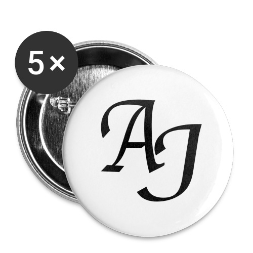 AJ Mouse Mat - Buttons large 2.2''/56 mm (5-pack)