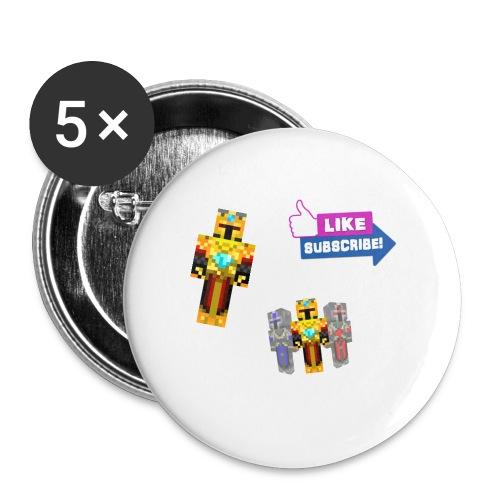 adriexis skin - Stor pin 56 mm (5-er pakke)
