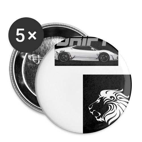 a aaaaa fghjgdfjgjgdfhsfd - Buttons large 2.2''/56 mm(5-pack)