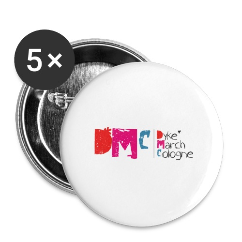 logo 72dpi png - Buttons groß 56 mm (5er Pack)
