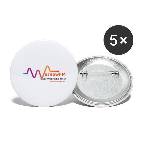 Sound Wave - Buttons groß 56 mm (5er Pack)