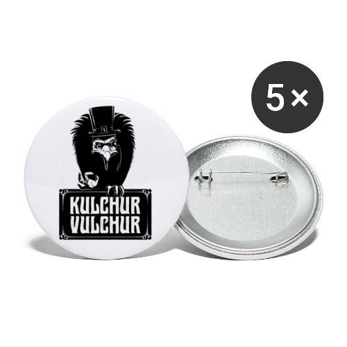 Kulchur Vulchur - Buttons large 2.2''/56 mm(5-pack)