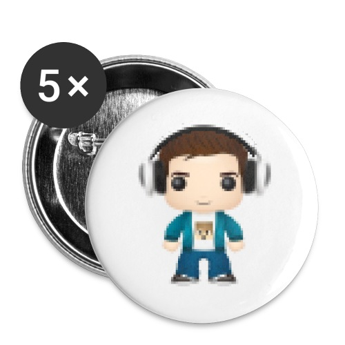 NiallBobbyJoe Avatar - Buttons large 2.2''/56 mm (5-pack)