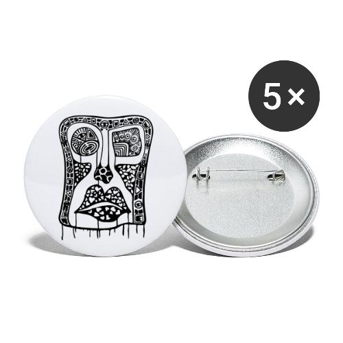 The Be Liever - Buttons large 2.2''/56 mm(5-pack)