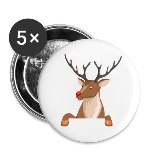 Caribou 6 - Lot de 5 grands badges (56 mm)
