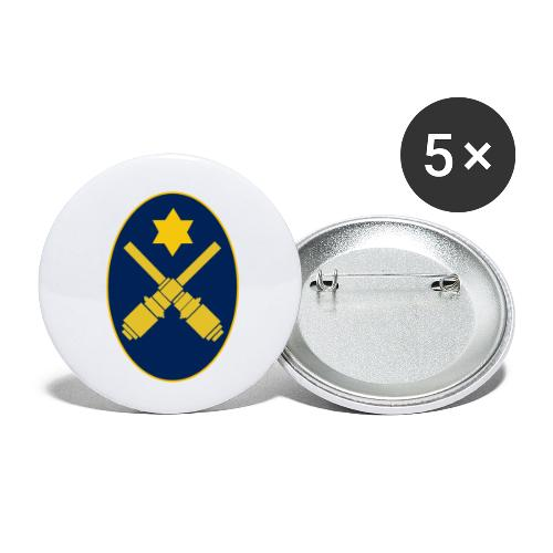 Gunner Oval - Buttons large 2.2''/56 mm(5-pack)