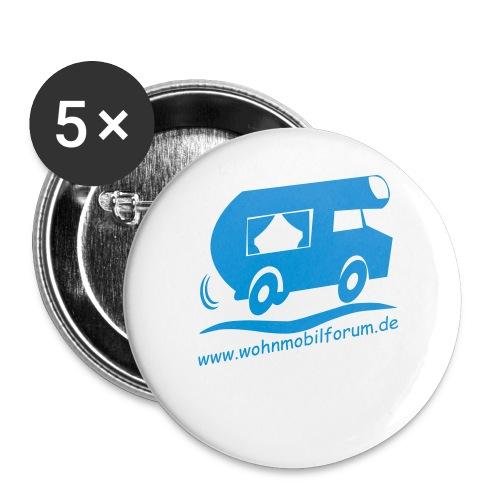 wohnmobilforumoriginalneu - Buttons groß 56 mm (5er Pack)