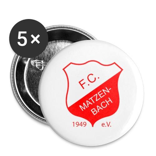 FC Matzenbach - Buttons groß 56 mm (5er Pack)