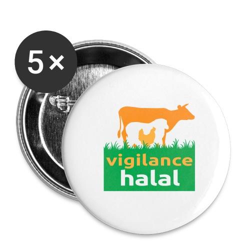 VH 2 jpg - Lot de 5 grands badges (56 mm)
