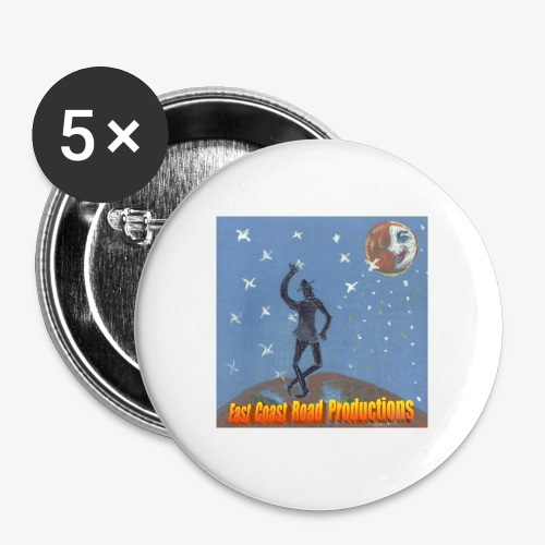 ecrp moon dance - Buttons large 2.2''/56 mm (5-pack)