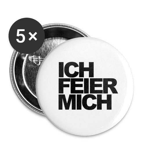 ICHFEIERMICH1 png - Buttons groß 56 mm (5er Pack)