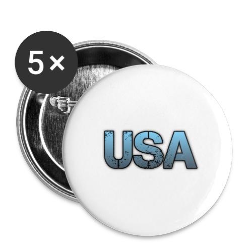 usa/estados unidos - Paquete de 5 chapas grandes (56 mm)