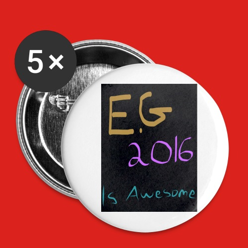 eg2016awesome jpg - Buttons large 2.2''/56 mm (5-pack)