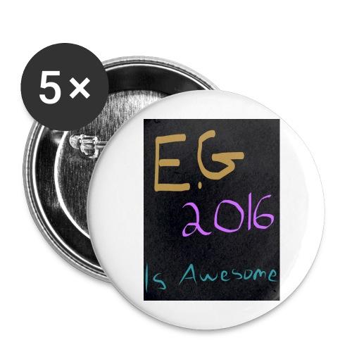 eg2016awesome jpg - Lot de 5 grands badges (56 mm)