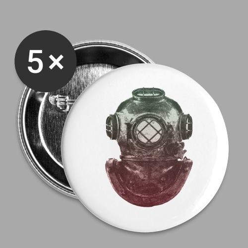 Diver - Rintamerkit isot 56 mm (5kpl pakkauksessa)
