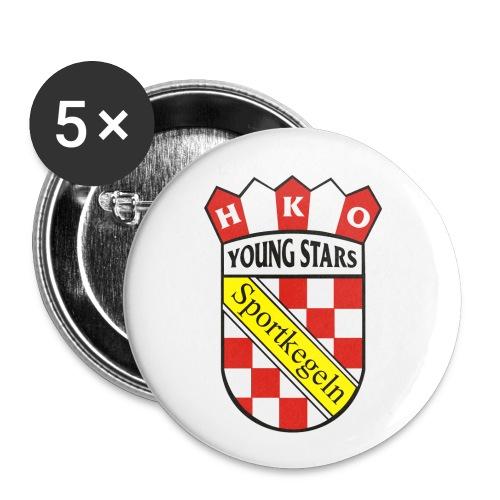 Wappen png - Buttons groß 56 mm (5er Pack)