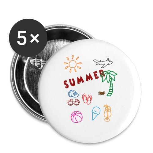 Summer - Rintamerkit isot 56 mm (5kpl pakkauksessa)