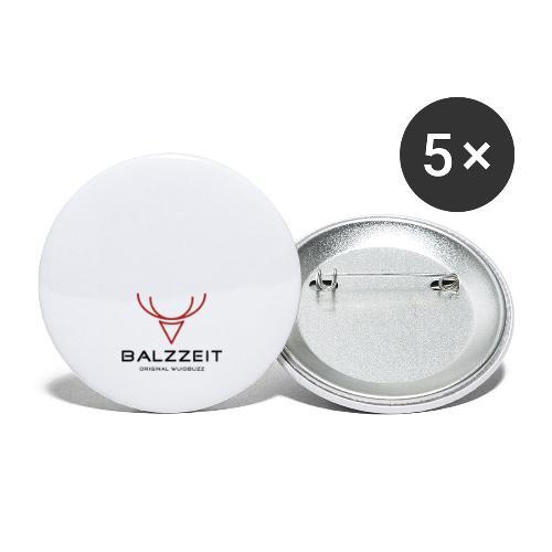 WUIDBUZZ | Balzzeit | Männersache - Buttons groß 56 mm (5er Pack)