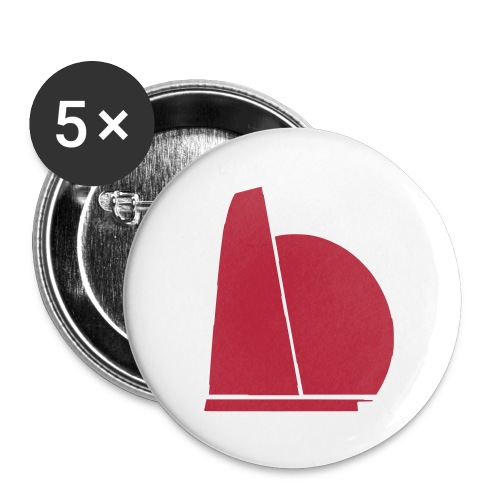 one very small - Buttons/Badges stor, 56 mm (5-pack)