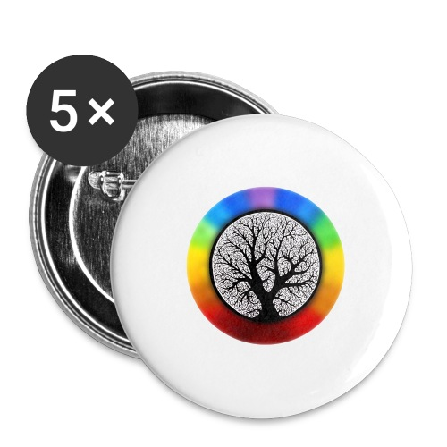 tree of life png - Buttons groot 56 mm (5-pack)