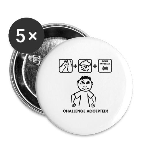 Drifter Challenge - Buttons groß 56 mm (5er Pack)