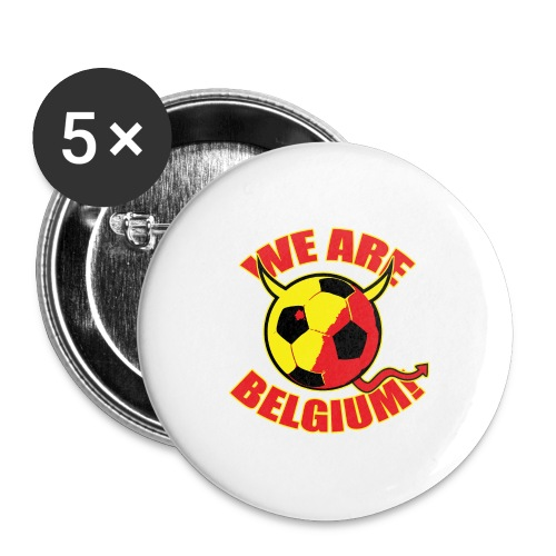 We Are Belgium - Buttons groot 56 mm (5-pack)