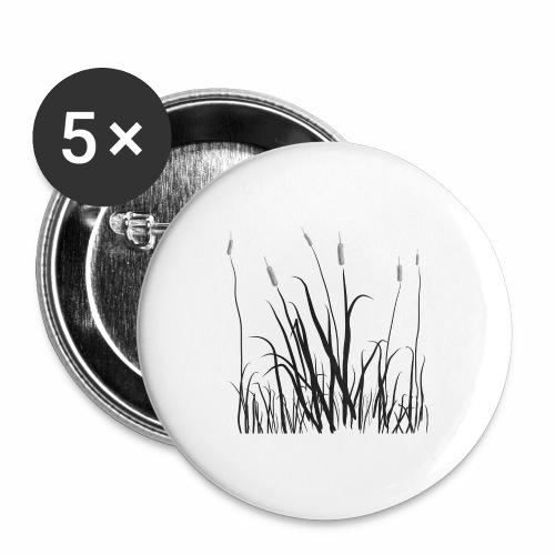 The grass is tall - Confezione da 5 spille grandi (56 mm)