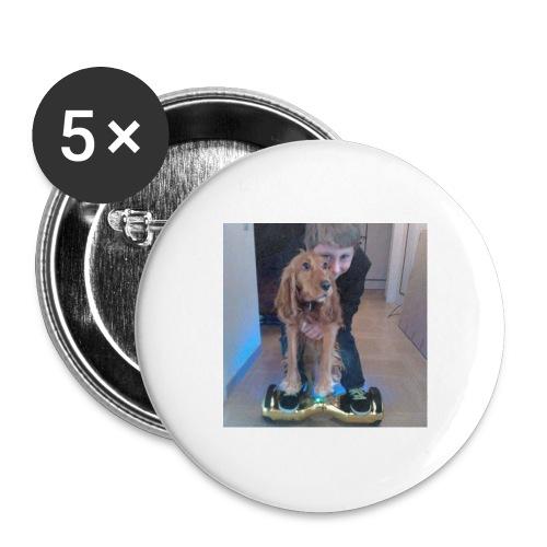 Rune & Heppie accessoires - Buttons groot 56 mm (5-pack)