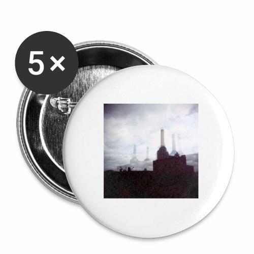 Original Artist design * Battersea - Buttons large 2.2''/56 mm(5-pack)
