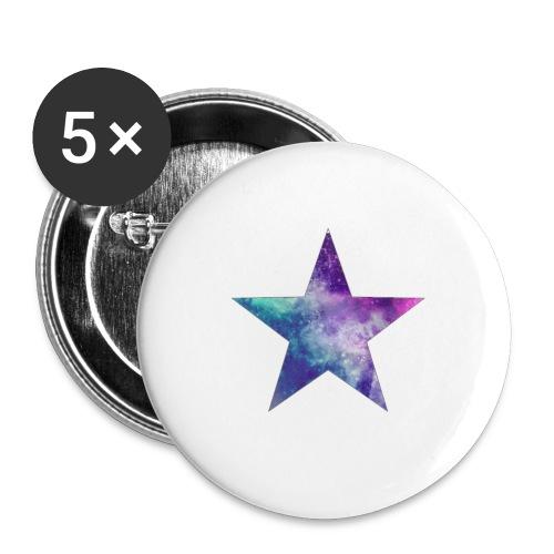 estrella png by ladyany1 d5zcsi2 - Paquete de 5 chapas grandes (56 mm)